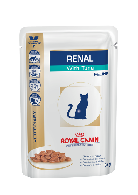 Royal Canin Vet Renal Tuna Wet Cat Food