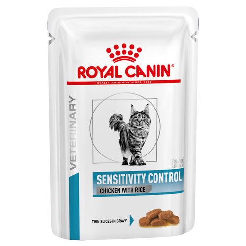 Royal Canin Vet Sensitivity Control Chicken & Rice Wet Cat Food