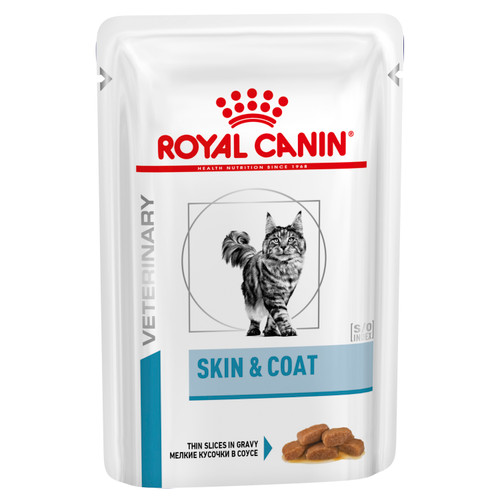 Royal Canin Vet Skin and Coat  Wet Cat Food