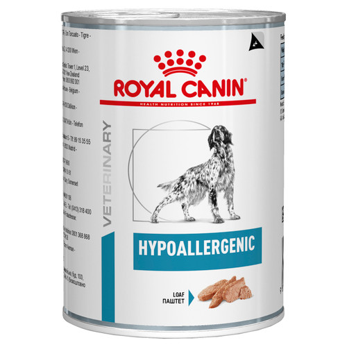 Royal Canin Vet Hypoallergenic Wet Dog Food