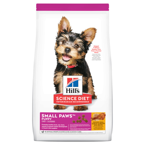 Hill's Science Diet Small Paws Dry Puppy Food