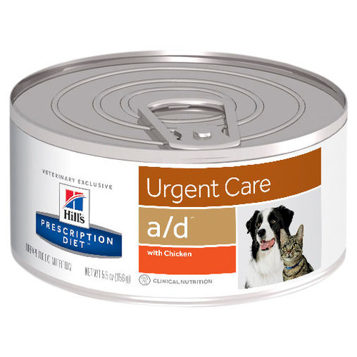 Hill's Prescription Diet a/d Urgent Care Wet Dog/Cat Food Cans
