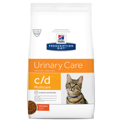 Hill's Prescription Diet c/d Multicare Urinary Care Chicken Dry Cat Food