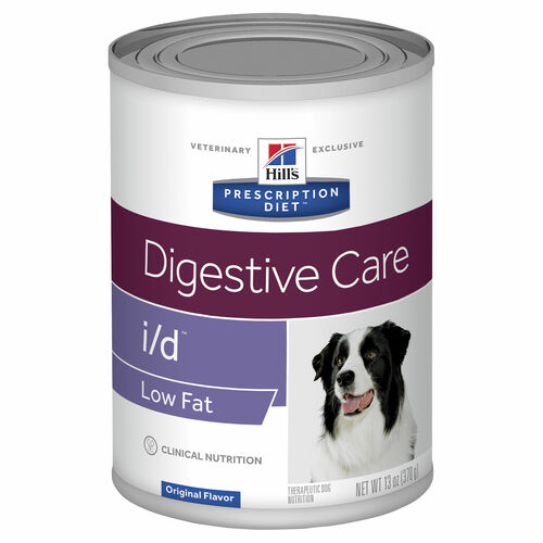 Hill's Prescription Diet i/d Low Fat Digestive Care Wet Dog Food Cans
