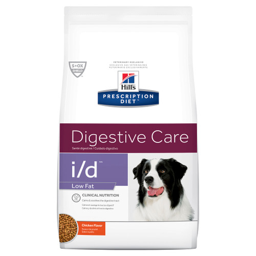Hill's Prescription Diet i/d Low Fat Digestive Care Dry Dog Food