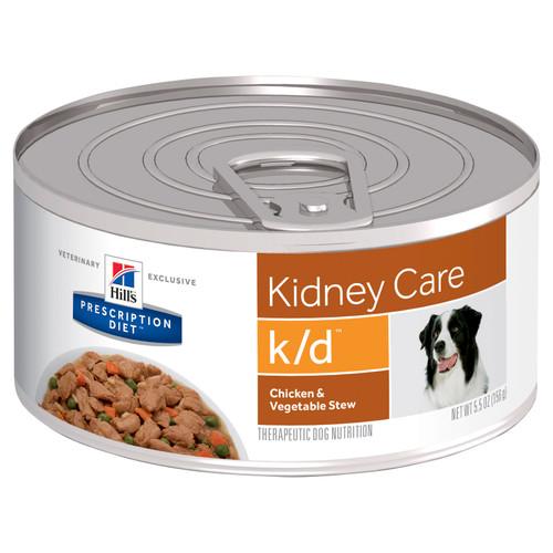 Hill's Prescription Diet k/d Kidney Care Chicken & Vegetable Stew Canned Dog Food