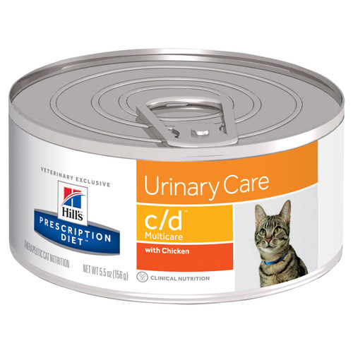Hill's Prescription Diet c/d Multicare Urinary Care Chicken Canned Cat Food