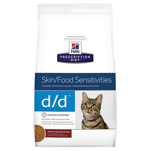 Hill's Prescription Diet d/d Skin/Food Sensitivities Dry Cat Food