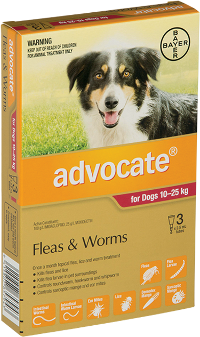 Advocate Flea Treatment For Dogs 10-25kg