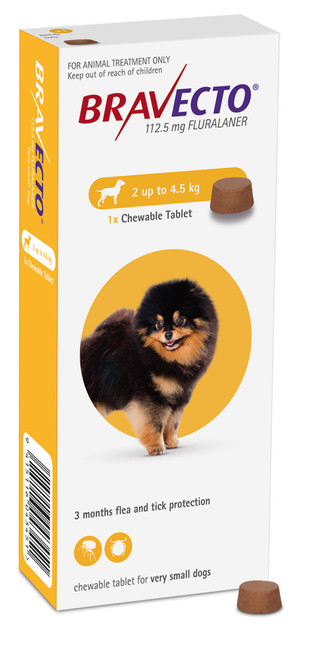 Bravecto Flea & Tick Chewable Treatment For Dogs