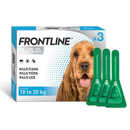 Frontline Frontline Plus Dog 3 pack