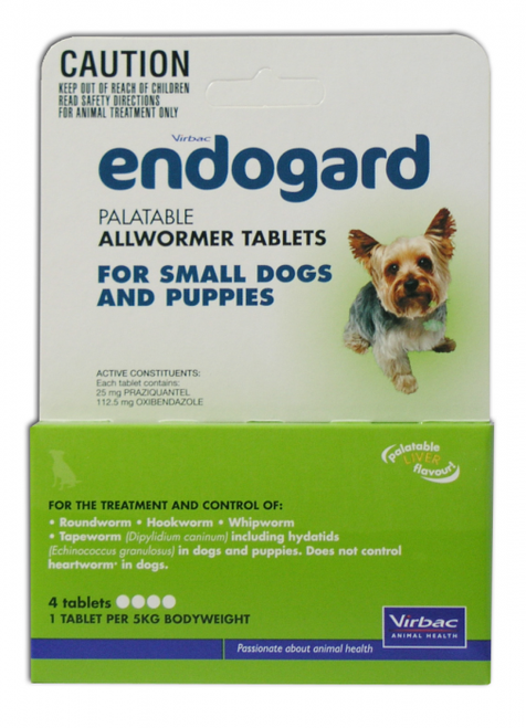Endogard Dog Worm Tablets