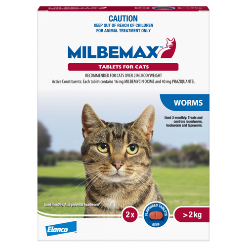 Milbemax Cat Worm Tablets
