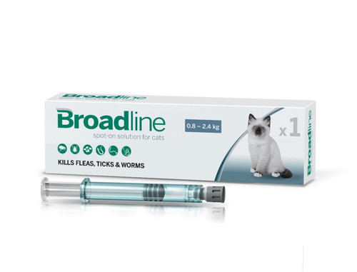 Broadline Spot On Solution For Cats 0.8-2.5kg