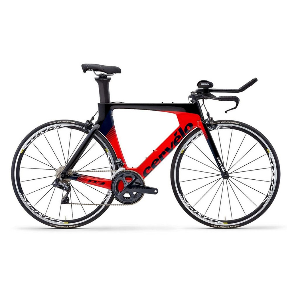 Cervelo P3 Ultegra Di2 8050 Red/Black/Navy