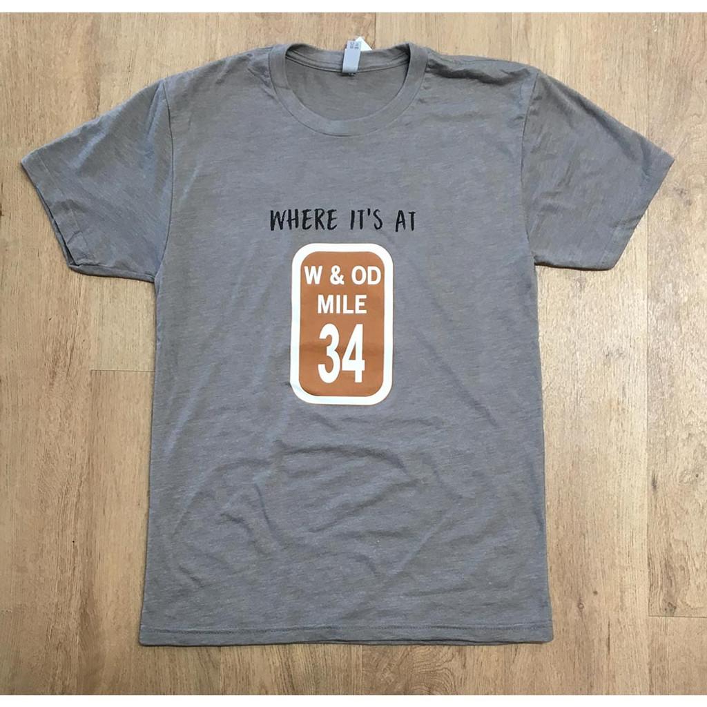 Mile Marker 34 Men Dark Grey