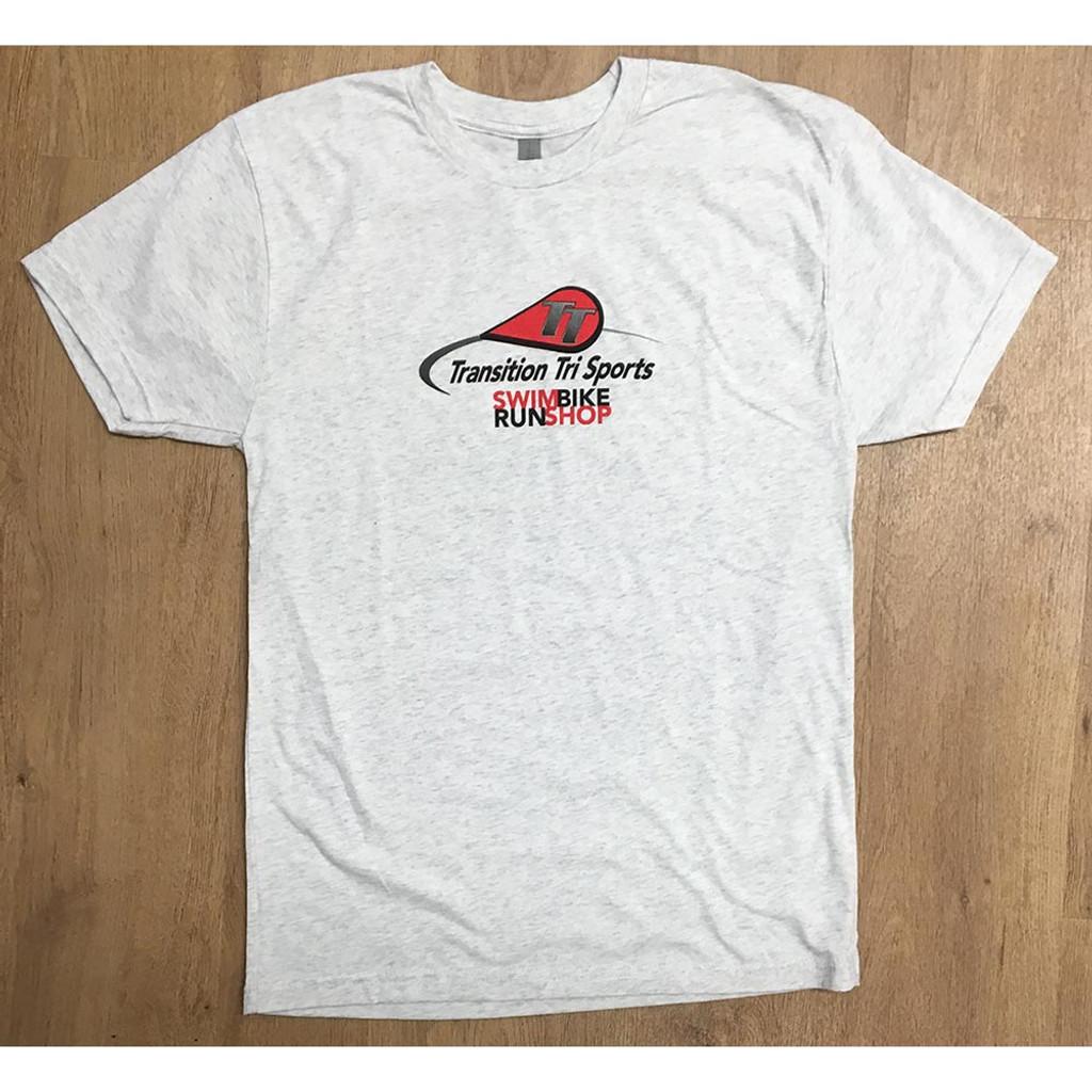 TT Logo Logo Follow Me Short Sleeve Shirt Men White