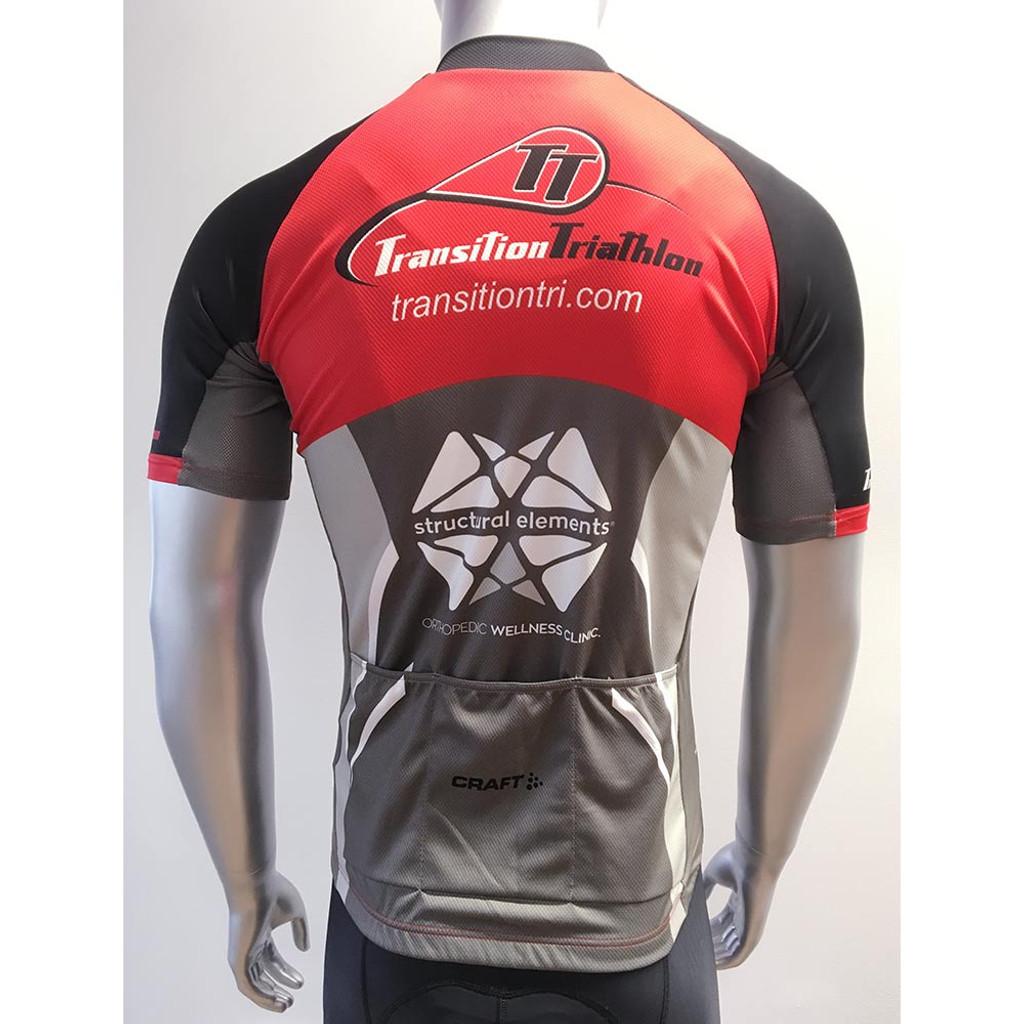 Craft TT Logo Performance Cycling Jersey Men