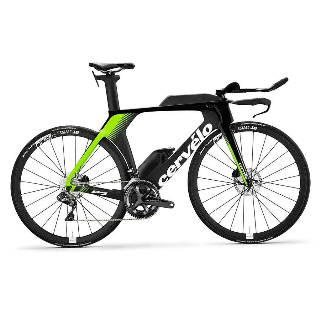 Cervelo P5 Disc Ultegra Di2 Black/Green/White