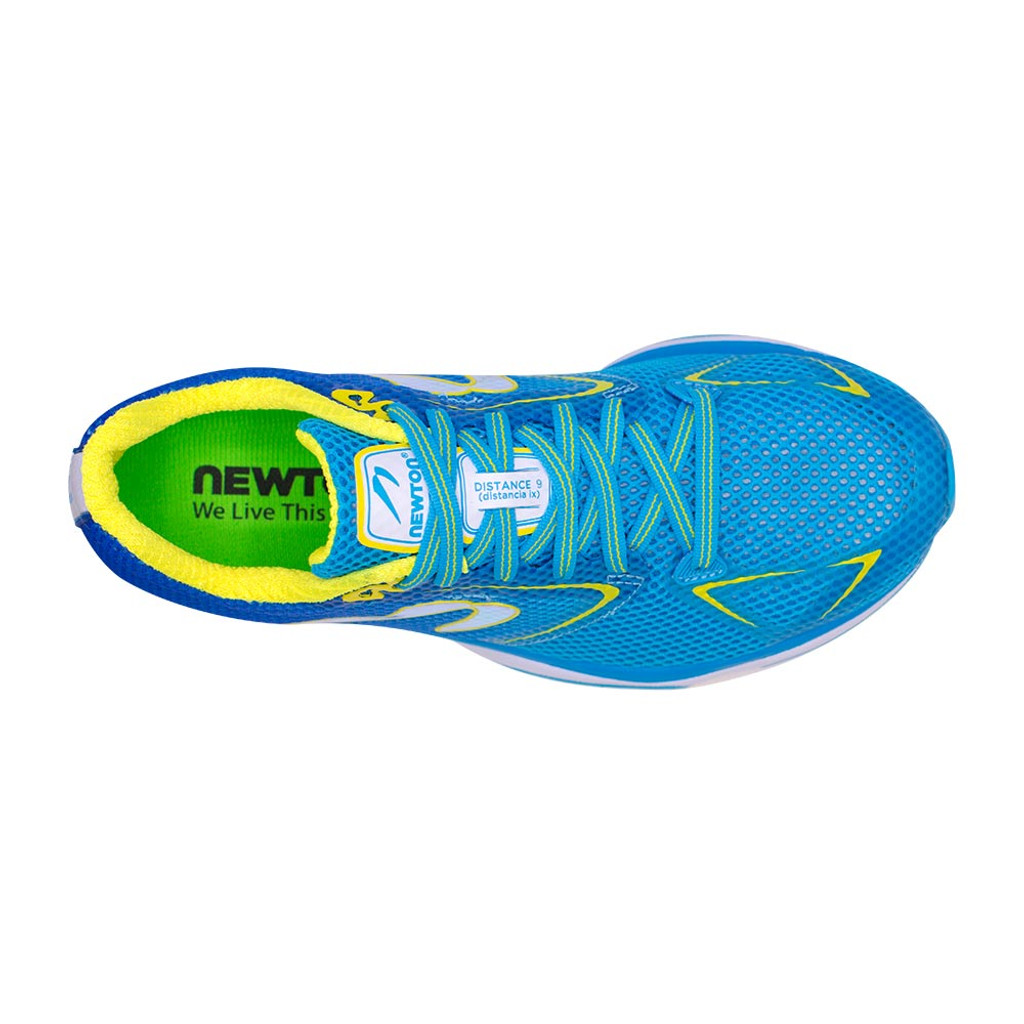 Newton Distance 9 Women Laguna/Yellow