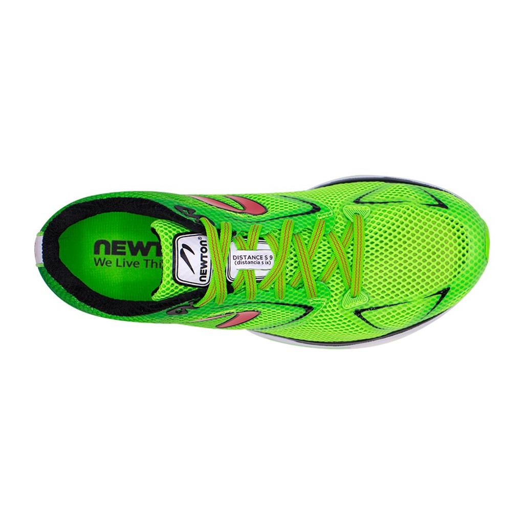 Newton Distance S 9 Men Emerald/Red