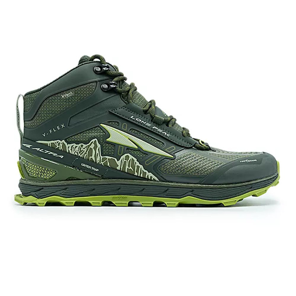 Altra Lone Peak 4 Mid RSM Men Deep Forest
