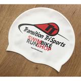TT Logo Silcone Swim Cap