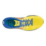 Newton Distance S 10 Men Yellow/Royal Blue