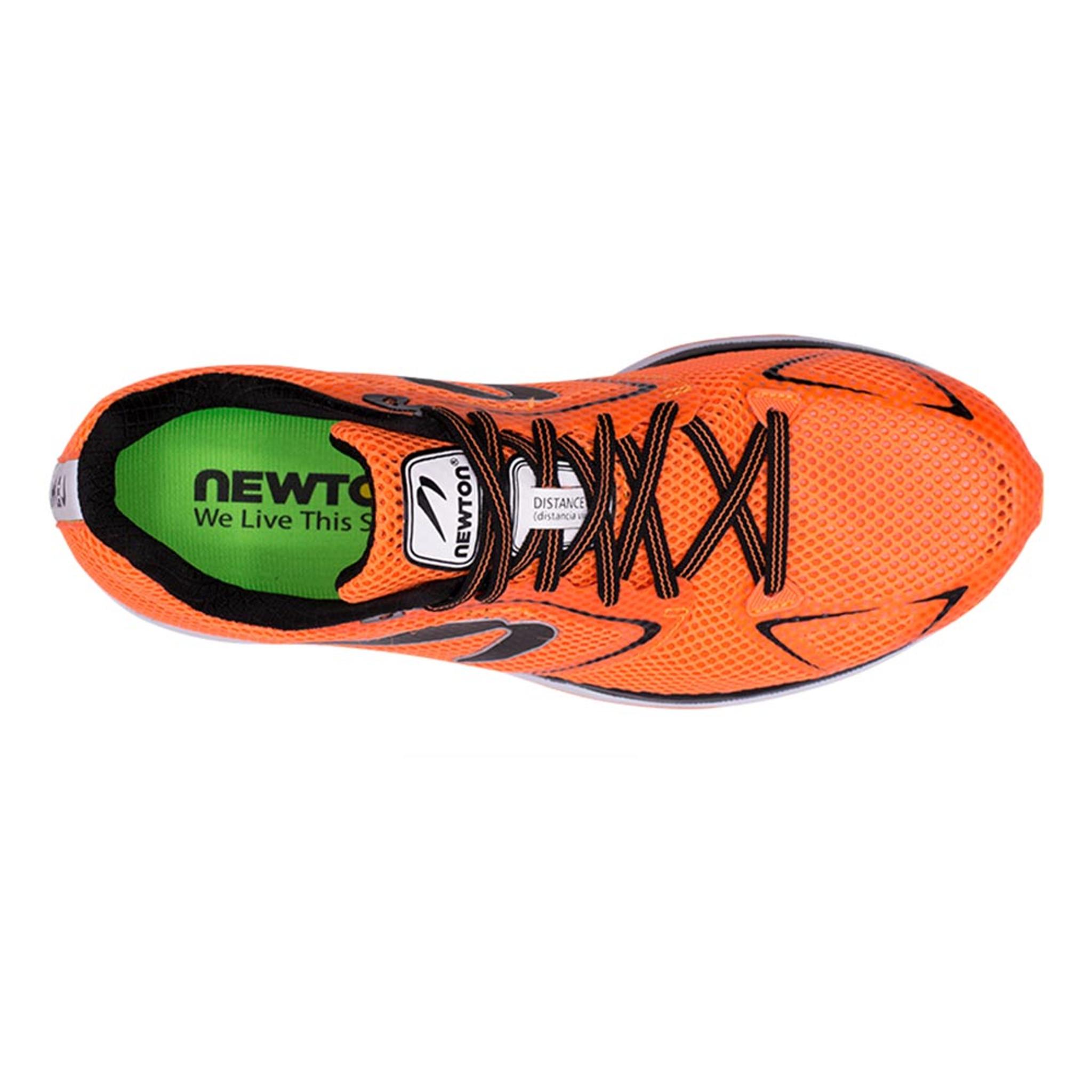 Newton Distance 8 Men Orange/Black