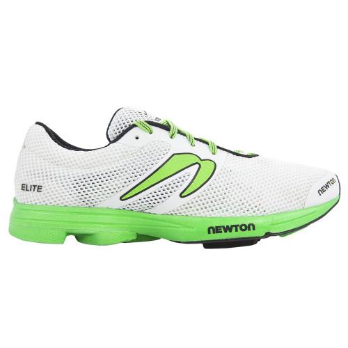 Newton Distance Elite Men White/Lime