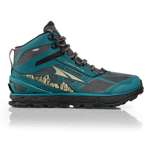 Altra Lone Peak 4 Mid RSM Women Green/Grey