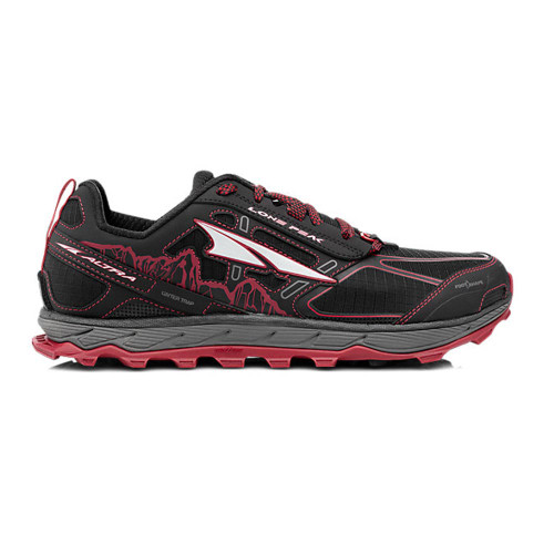 Altra Lone Peak 4 Men Black/Red