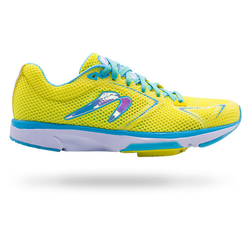 Newton Distance S 8 Women Yellow/Blue