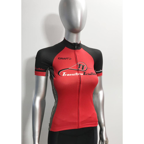 Craft TT Logo Performance Cycling Jersey Woman