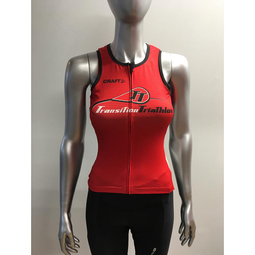 Craft TT Logo Elite Tri Top Women