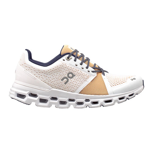On Running Cloudstratus Women White/Almond