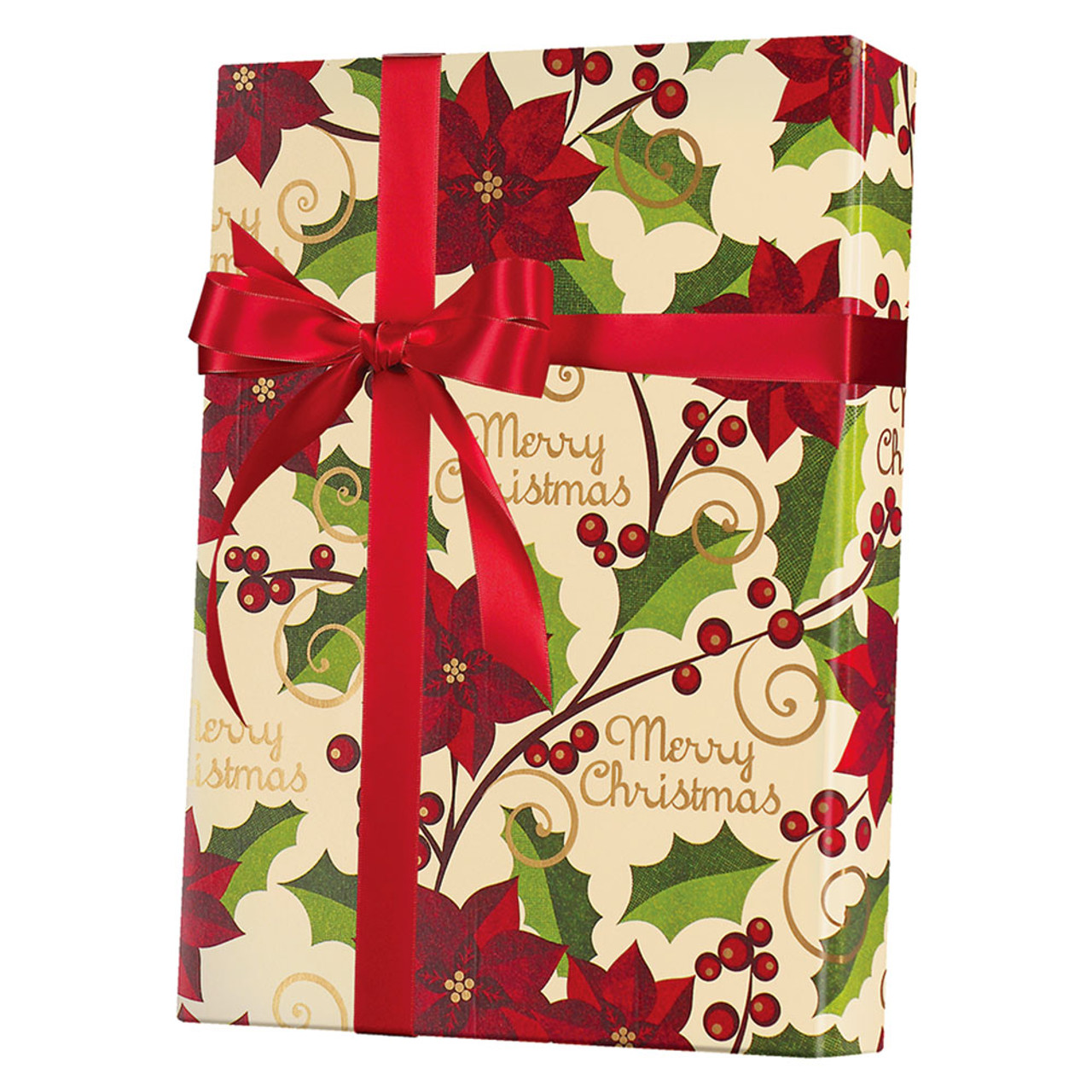 A Very Merry Christmas Gift Wrap - WrapSmart