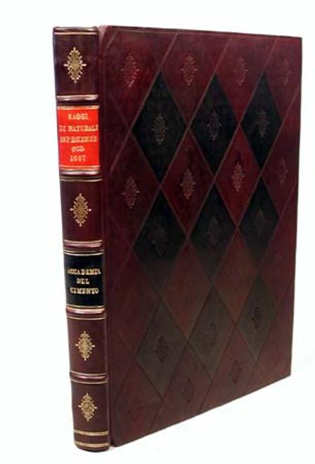 Rare Science Book, Academia Del Cimento and Magalotti, Esperienze Fatte nell'Aorenzo; 1st edition, 1667.