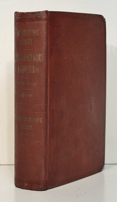 Colvin, Verplanck; Report on the Progress of the Topographical Survey of the Adirondack Region of New York for the Year 1879. Albany, Weed Parsons and Company, 1880.