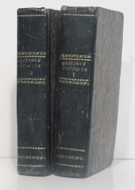 Boue, Ami; Guide du Geologue - Voyageur sur le modele de l'Agenda Geognostica de M. Leonhard. Bruxelles, 1836.