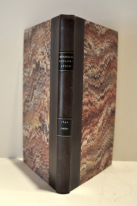 Owen, David Dale; Mineral lands of the United States. Report of a geological exploration of part of Iowa, Wisconsin, and Illinois, made in the autumn of the year 1839.