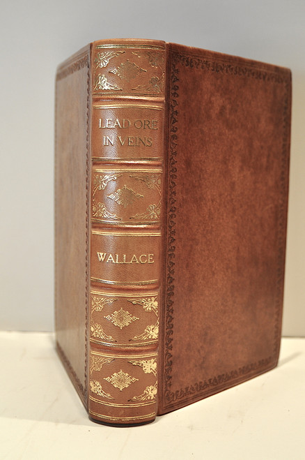 Rare Geology Book: Wallace, William; The laws which regulate the deposition of lead ore in veins; illustrated by an examination of the geological structure of the mining districts of Alston Moor.