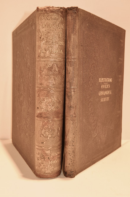 Owen, David Dale; Report of a Geological Survey of Wisconsin, Iowa, and Minnesota; and Incidentally of a Portion of Nebraska Territory. [With:] The Illustrations to the Geological Report of Wisconsin, Iowa, and Minnesota.