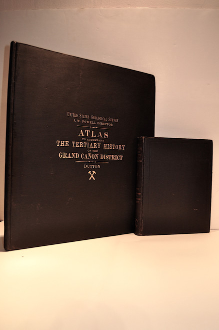 Dutton, Clarence E.; Tertiary History of the Grand Canon District with Atlas. USGS Monograph 2, Washington, 1882. Text and Atlas.