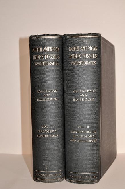 Grabau, Amadeus W. & Shimer, H. W.; North American Index Fossils. Invertebrates Vols. I & II. A. G. Seiler & Co., 1909-1910.