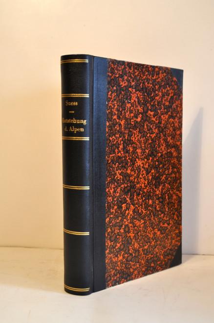 Suess, Eduard: Die Entstehung der Alpen. 1875.