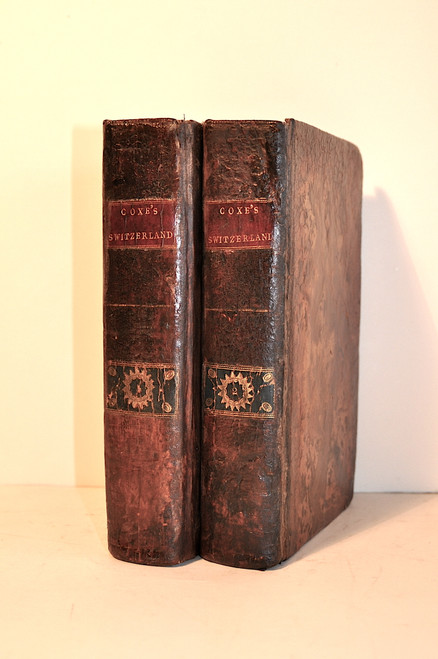 Coxe, William; Travels in Switzerland in a series of letters to William Melmoth. Dublin, 1789.