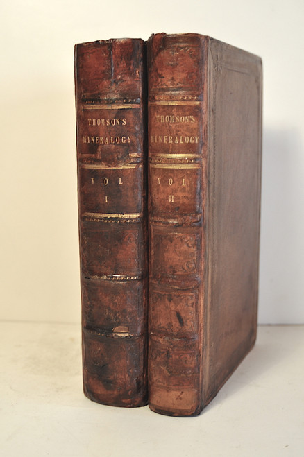 Thomson, Thomas; Outlines of Mineralogy, Geology, and Mineral Analysis. By Thomas Thompson, M.D. 1836