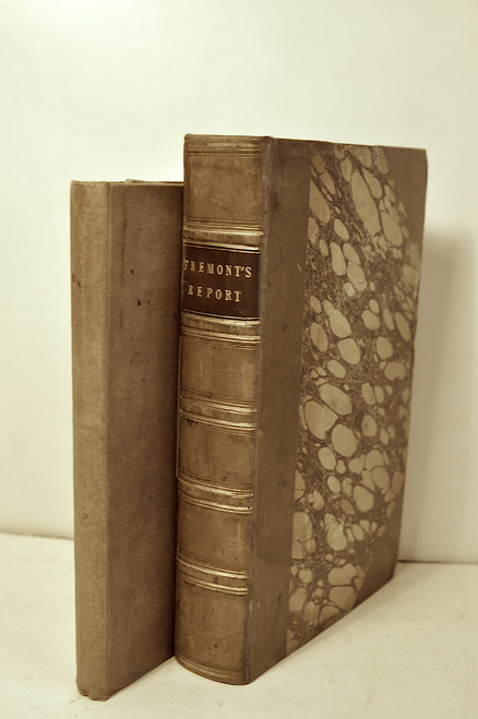 Fremont, John C.; Report of the Exploring Expedition to the Rocky Mountains in the Year 1842 and to Oregon and North California in the Years 1843-1844. Washington, SED 174, 1845.