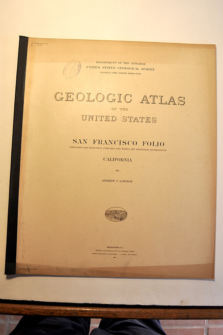 Lawson, Andrew C.; San Francisco Folio (Tamalpais, San Francisco, Concord, San Mateo, and Haywards quadrangles) California. Geologic Atlas Folio #193. Washington D. C., U.S. Geological Survey, 1914.